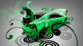 Toyota-GT-86-Super-Plastic-Green-Neon-Car-2014-HD-Wallpapers-design-by-Tony-Kokhan-[www.el-tony.com]