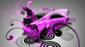 Toyota-GT-86-Super-Plastic-Pink-Neon-Car-2014-HD-Wallpapers-design-by-Tony-Kokhan-[www.el-tony.com]