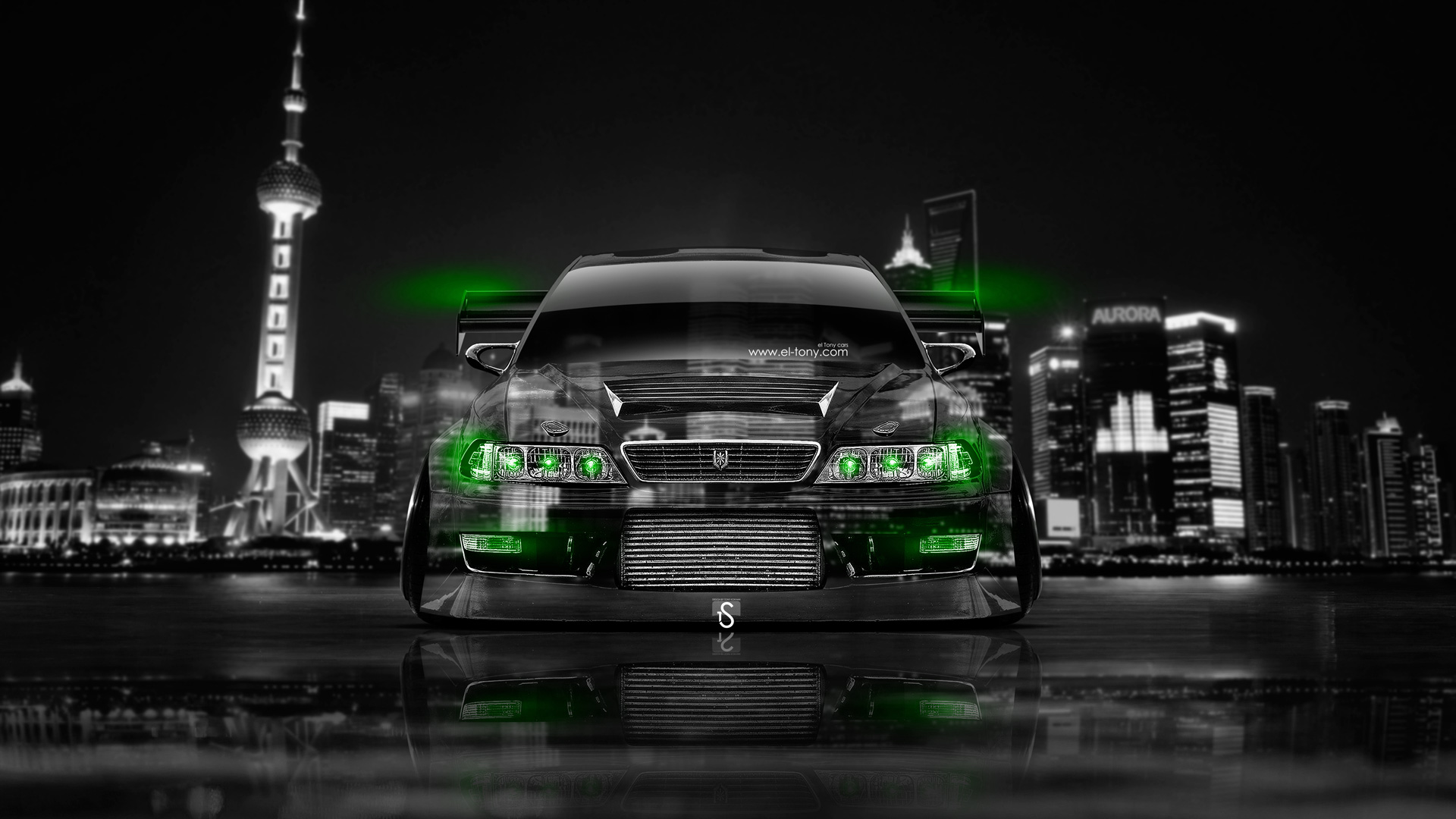 Exceptional Toyota Mark 2 JZX100 Tuning JDM Front Crystal .