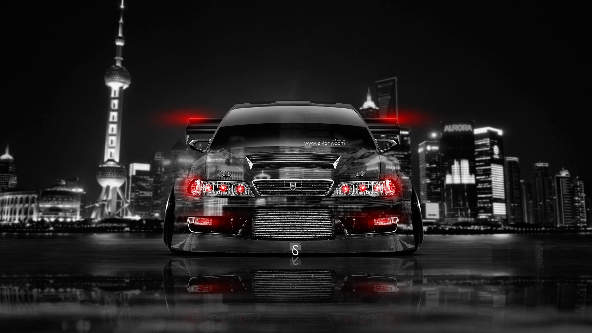 Exceptionnel Toyota Mark 2 JZX100 Tuning JDM Front Crystal  ...