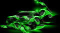 Toyota-Mark-2-JZX90-JDM-Abstract-Car-2014-Green-Neon-HD-Wallpapers-design-by-Tony-Kokhan-[www.el-tony.com]
