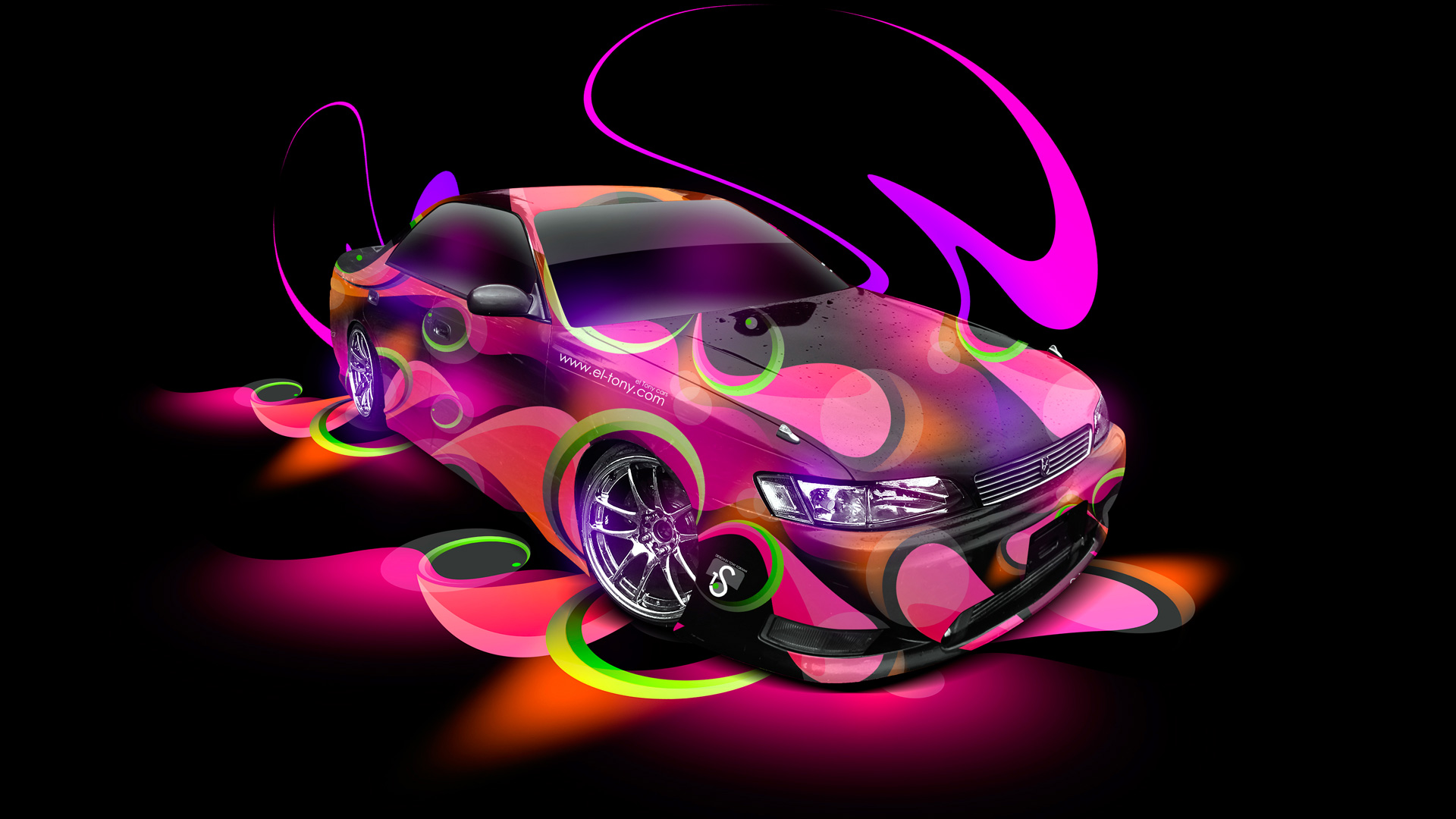 ... Toyota Mark2 JZX90 JDM Super Abstract Car 2014