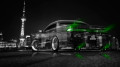 Toyota-Mark2-JZX90-JDM-Crystal-City-Car-2014-Green-Neon-design-by-Tony-Kokhan-[www.el-tony.com]