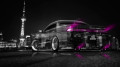 Toyota-Mark2-JZX90-JDM-Crystal-City-Car-2014-Pink-Neon-design-by-Tony-Kokhan-[www.el-tony.com]