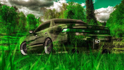 Toyota-Mark2-JZX90-JDM-Crystal-Nature-Car-2014-HD-Wallpapers-design-by-Tony-Kokhan-[www.el-tony.com]