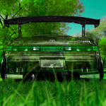 Toyota Mark2 JZX90 JDM Back Crystal Nature Car 2014