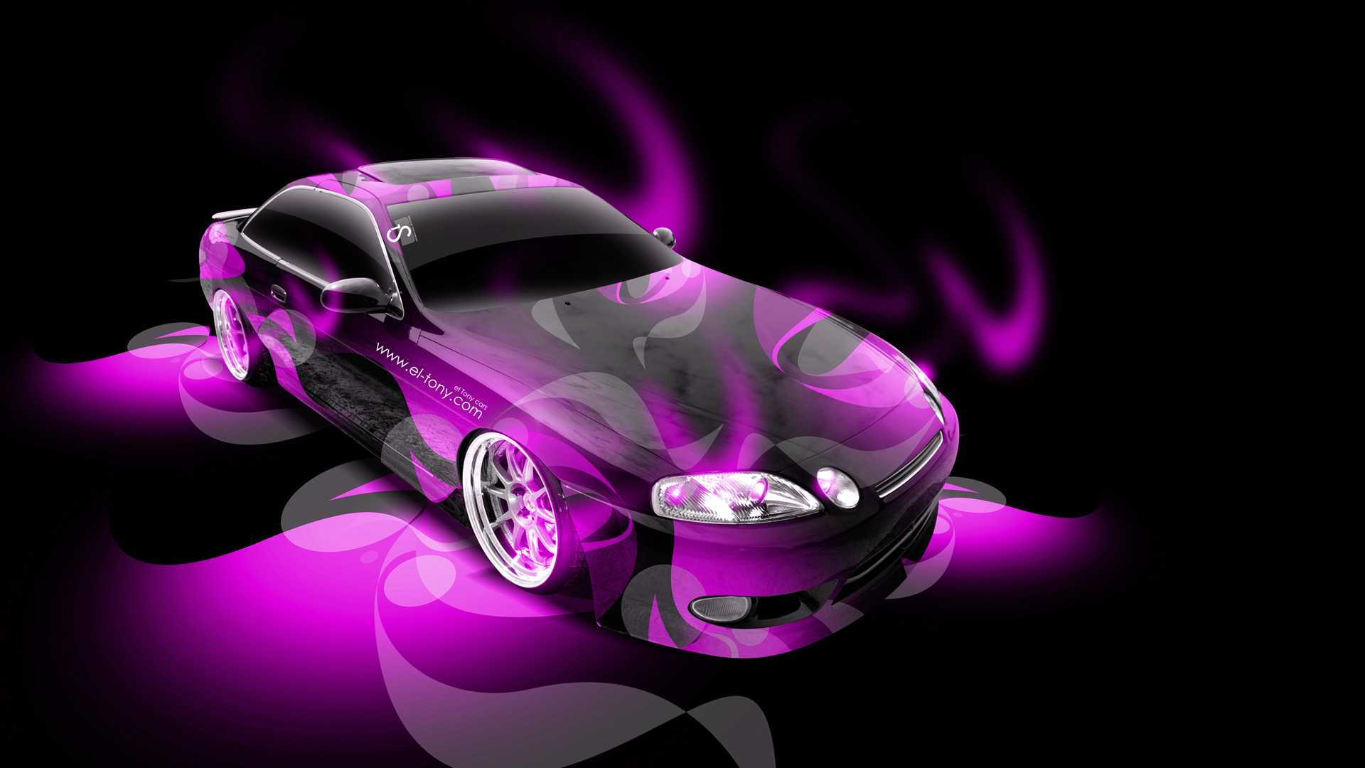 Toyota Soarer JDM Super Abstract Car 2014 | El Tony