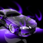 Toyota Soarer JDM Super Abstract Car 2014