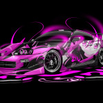 Toyota Supra JDM Anime Aerography Car 2014