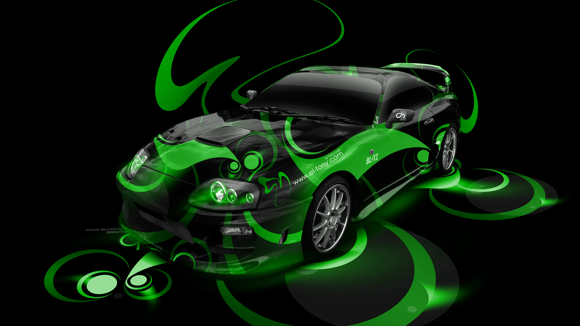 Suzuki Recursion Side Super Plastic Bike 2014 · Toyota Supra JDM Super  Abstract Car 2014