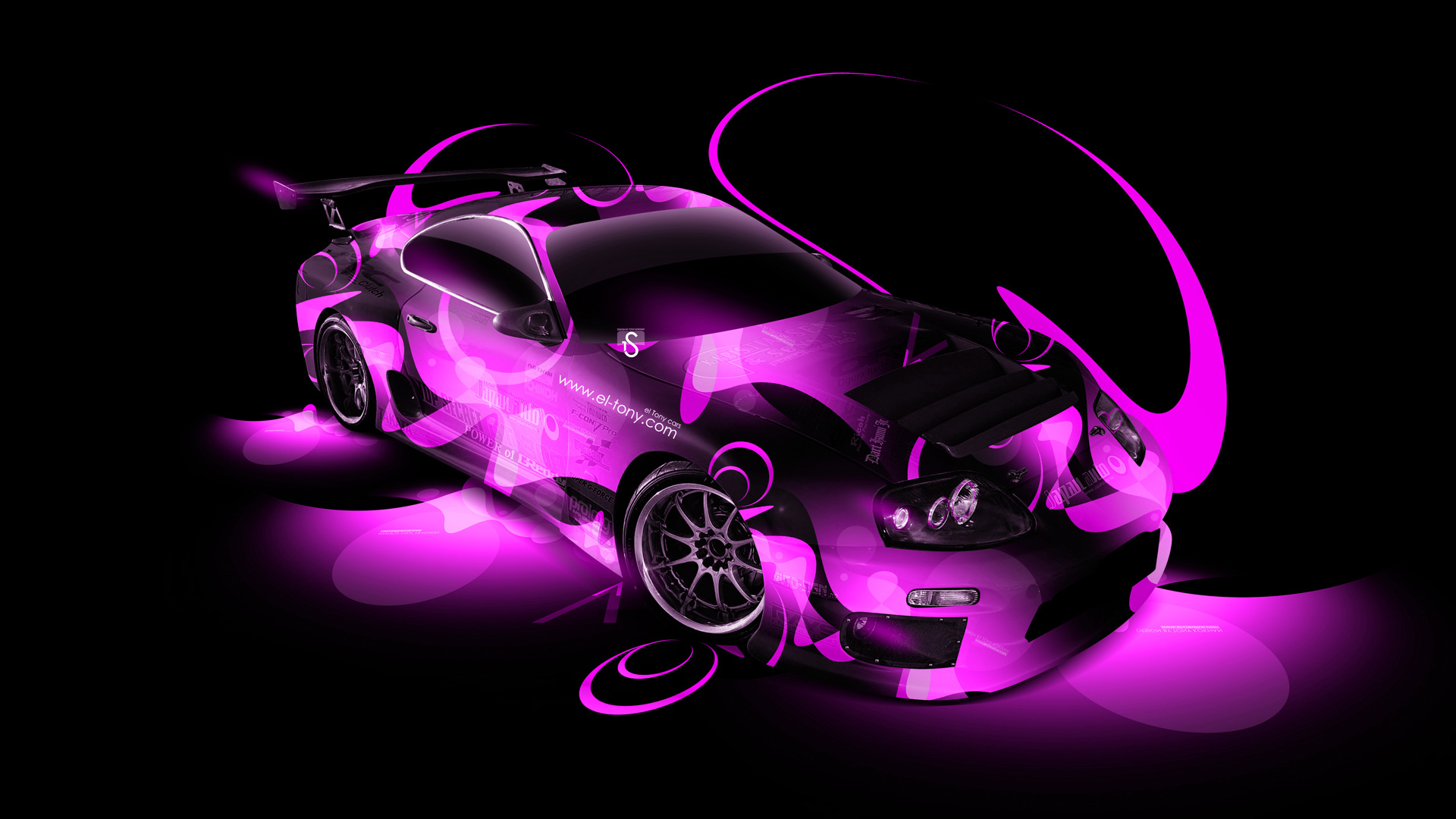 Toyota Supra Tuning JDM Super Abstract Car 2014 | El Tony