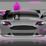 Aston Martin DB9 Fantasy Crystal Home Fly Car 2014