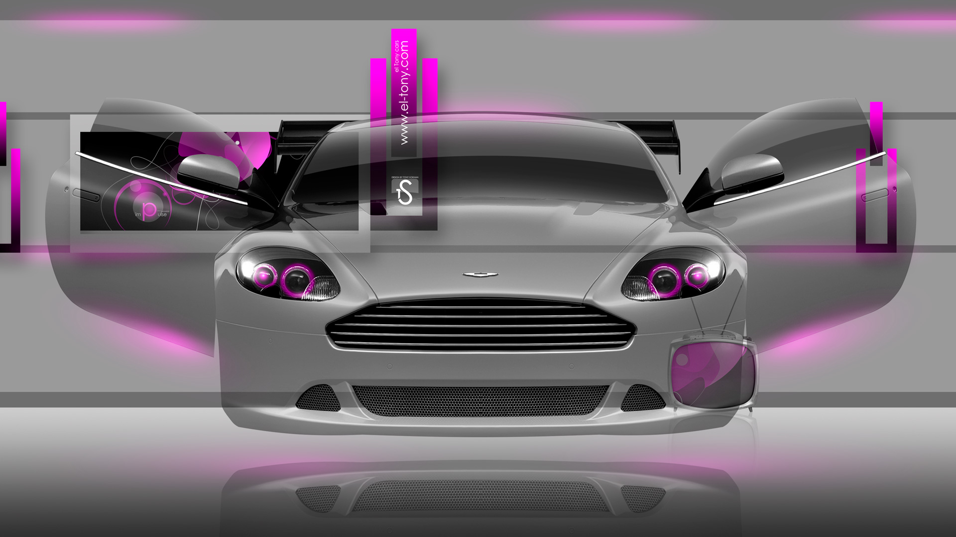 Delicieux Aston Martin DB9 Fantasy Crystal Home Fly Car