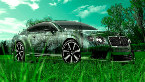 Bentley-Continental-GT-Crystal-Nature-Car-2014-HD-Wallpapers-design-by-Tony-Kokhan-[www.el-tony.com]