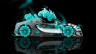 Bugatti-Veyron-Roadster-Side-Fantasy-Flowers-Azure-Neon-Car-2014-HD-Wallpapers-design-by-Tony-Kokhan-[www.el-tony.com]