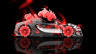 Bugatti-Veyron-Roadster-Side-Fantasy-Flowers-Orange-Neon-Car-2014-HD-Wallpapers-design-by-Tony-Kokhan-[www.el-tony.com]