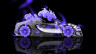 Bugatti-Veyron-Roadster-Side-Fantasy-Flowers-Violet-Neon-Car-2014-HD-Wallpapers-design-by-Tony-Kokhan-[www.el-tony.com]