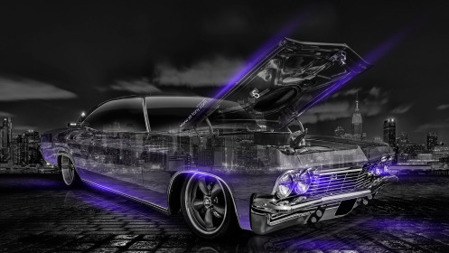 Chevrolet-Biscayne-1965-Retro-Crystal-City-Car-2014-Art-Violet-Neon-HD-Wallpapers-design-by-Tony-Kokhan-[www.el-tony.com]