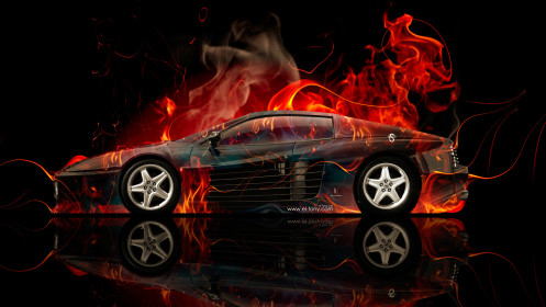 Ferrari-512-Side-Fire-Abstract-Car-2014-HD-Wallpapers-design-by-Tony-Kokhan-[www.el-tony.com]