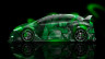 Honda-Civic-Type-R-JDM-Side-Anime-Girl-Aerography-Car-2014-Green-Neon-design-by-Tony-Kokhan-[www.el-tony.com]