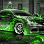 Honda Integra JDM Crystal Fire City Car 2014