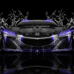 Honda NSX Front Super Water Car 2014