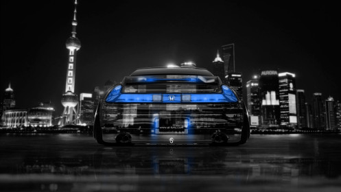 Honda-NSX-JDM-Back-Crystal-City-Car-2014-Blue-Neon-HD-Wallpapers-design-by-Tony-Kokhan-[www.el-tony.com]