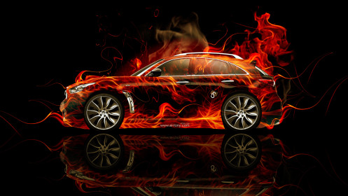 Infiniti-FX-Side-Fire-Abstract-Car-2014-HD-Wallpapers-design-by-Tony-Kokhan-[www.el-tony.com]
