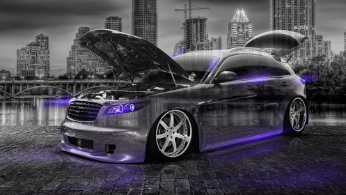 Infiniti-FX35-Crystal-City-Car-2014-Violet-Neon-HD-Wallpapers-design-by-Tony-Kokhan-[www.el-tony.com]
