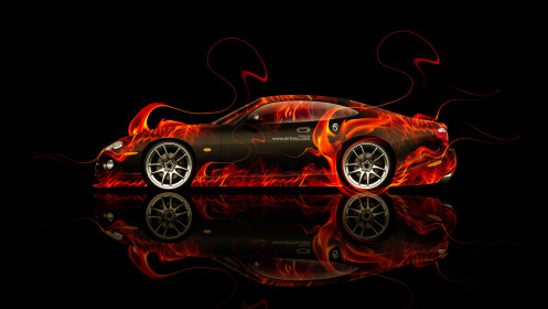 Jaguar-XK8-Coupe-Side-Fire-Abstract-Car-2014-HD-Wallpapers-design-by-Tony-Kokhan-[www.el-tony.com]