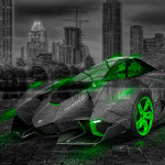 Lamborghini Egoista Crystal City Car 2014
