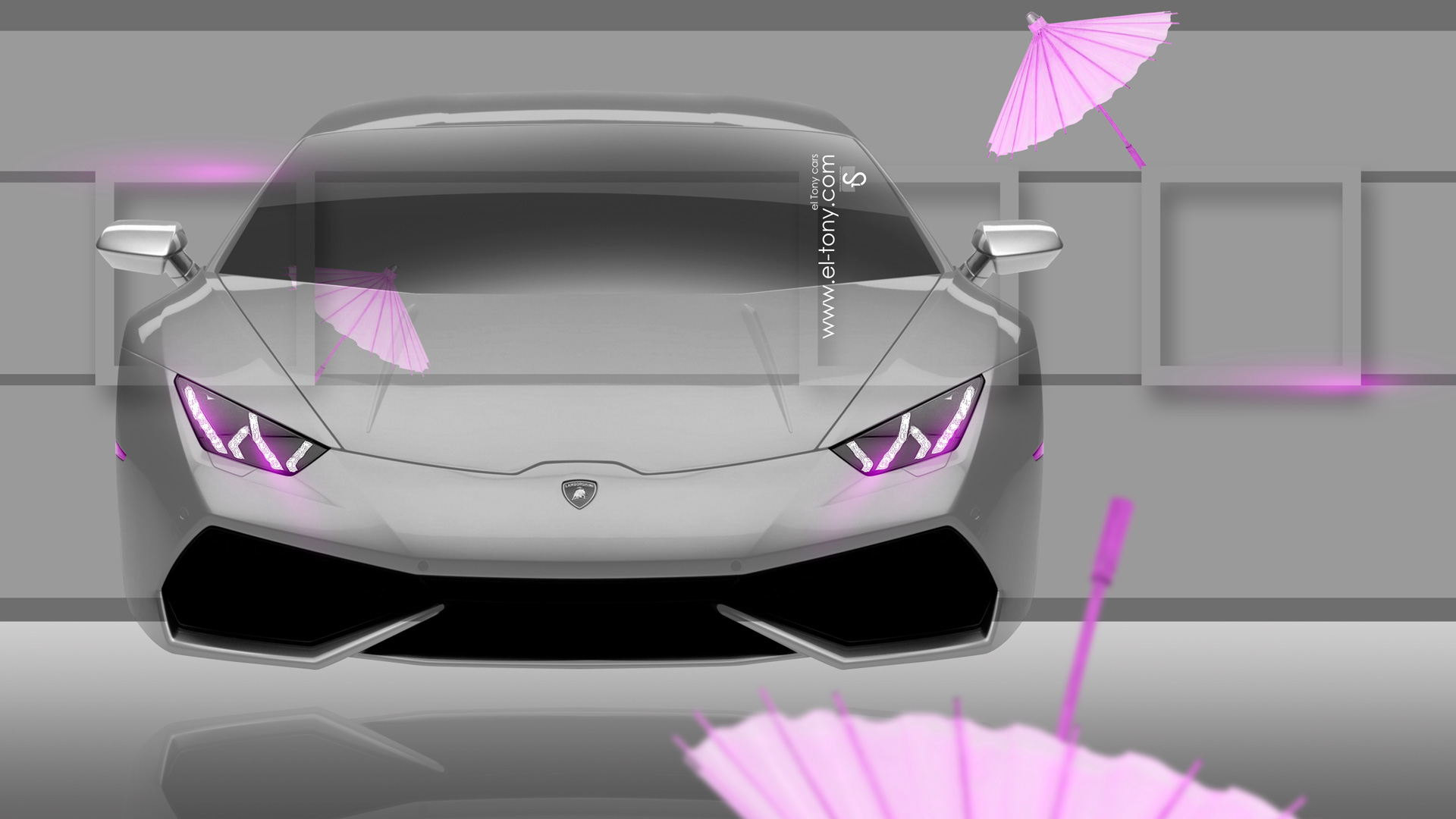 Lamborghini Huracan Fantasy Crystal Home Fly Car 2014