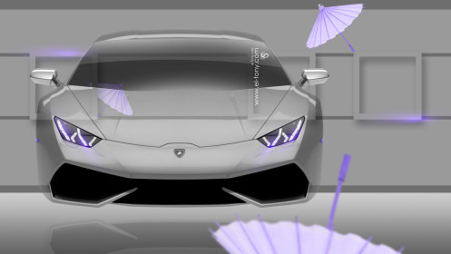 Lamborghini-Huracan-Fantasy-Crystal-Home-Fly-Car-2014-Violet-Neon-Wallpapers-design-by-Tony-Kokhan-[www.el-tony.com]