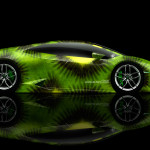 Lamborghini Huracan Side Kiwi Aerography Car 2014
