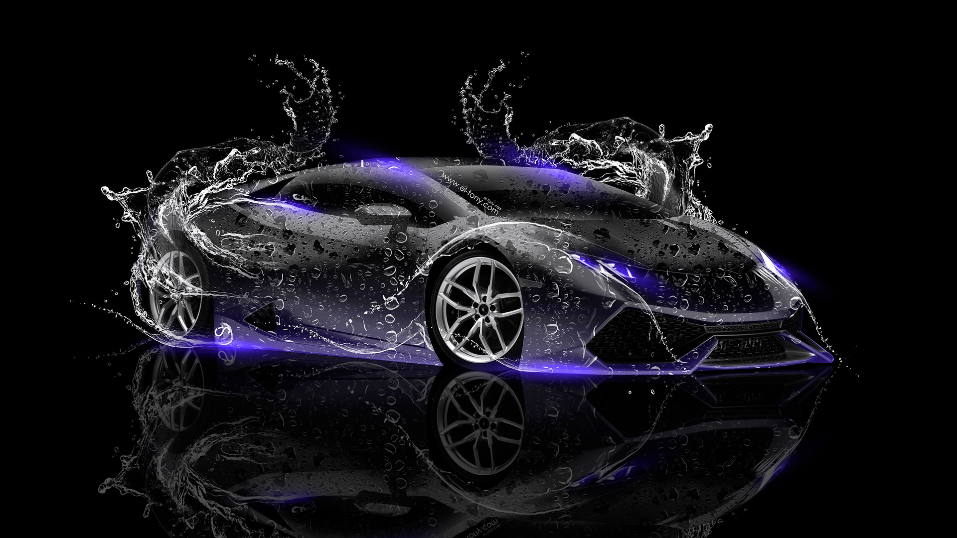 lamborghini huracan back water car 2014 lamborghini huracan back water