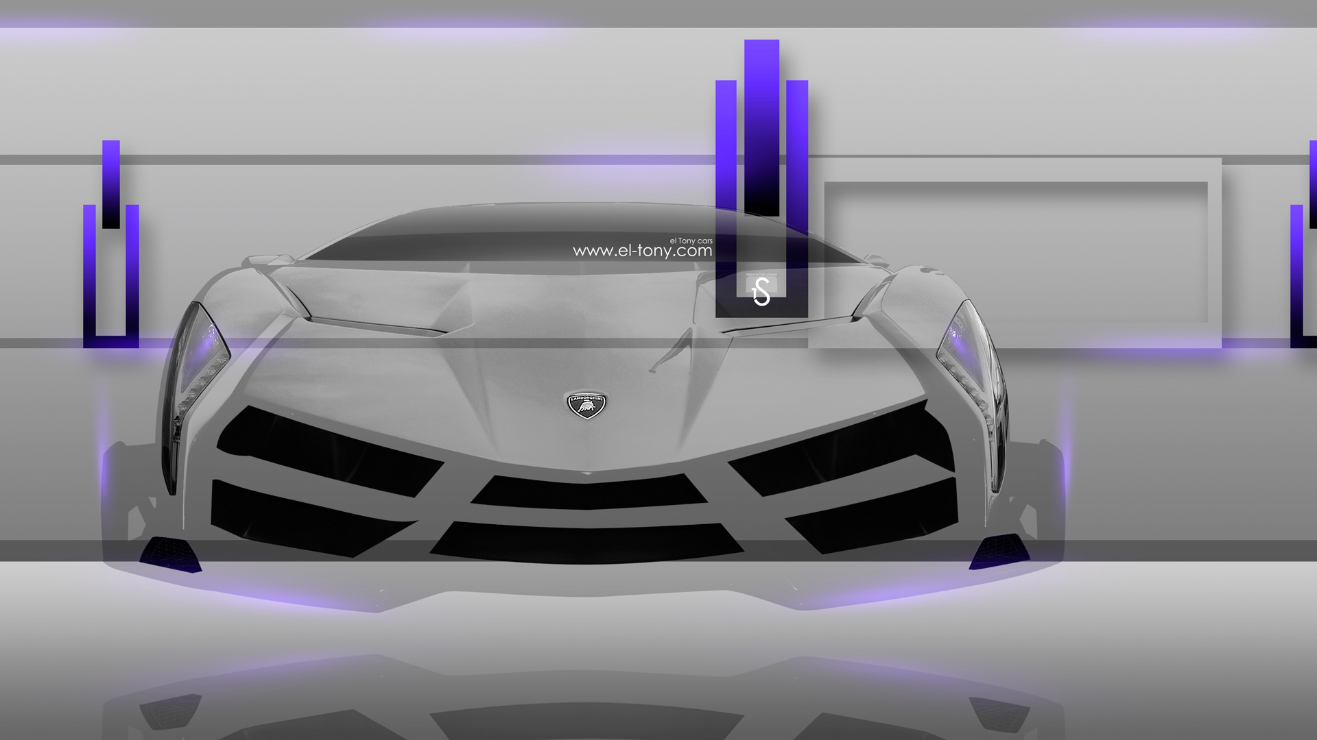 Lamborghini Veneno Fantasy Crystal Home Fly Car 2014