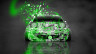 Mazda-Miata-Front-JDM-Style-Domo-Kun-Toy-Car-2014-Art-Green-Neon-HD-Wallpapers-design-by-Tony-Kokhan-[www.el-tony.com]