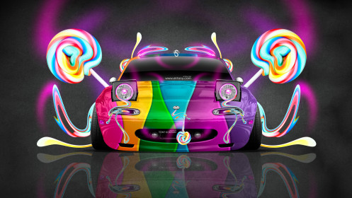Mazda-Miata-JDM-Style-Front-Fantasy-Candy-Car-2014-Multicolors-HD-Wallpapers-design-by-Tony-Kokhan-[www.el-tony.com]