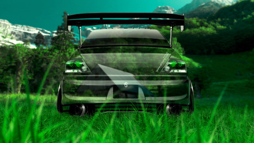 Mitsubishi-Lancer-Evolution-JDM-Back-Crystal-Nature-Car-2014-HD-Wallpapers-design-by-Tony-Kokhan-[www.el-tony.com]