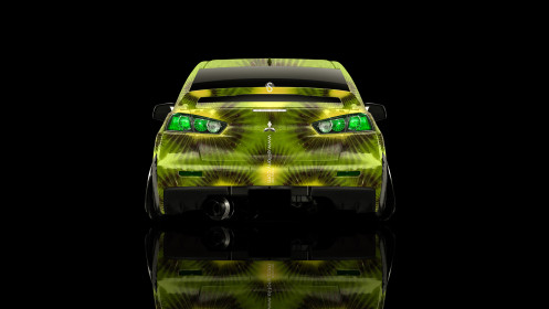 Mitsubishi-Lancer-Evolution-X-Back-Kiwi-Aerography-Car-2014-HD-Wallpapers-design-by-Tony-Kokhan-[www.el-tony.com]