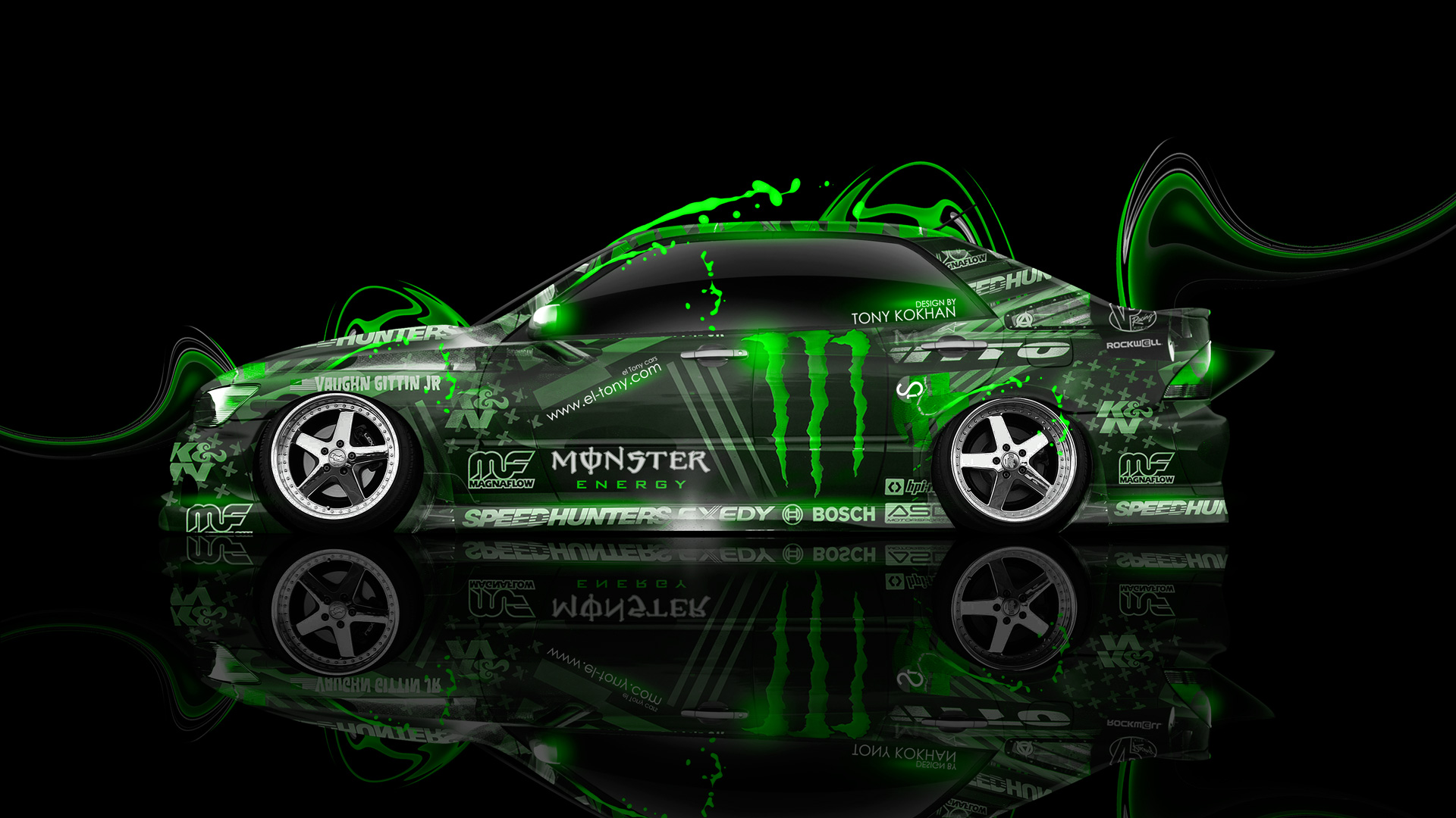 Superbe ... Monster Energy Toyota Altezza JDM Plastic Car 2014