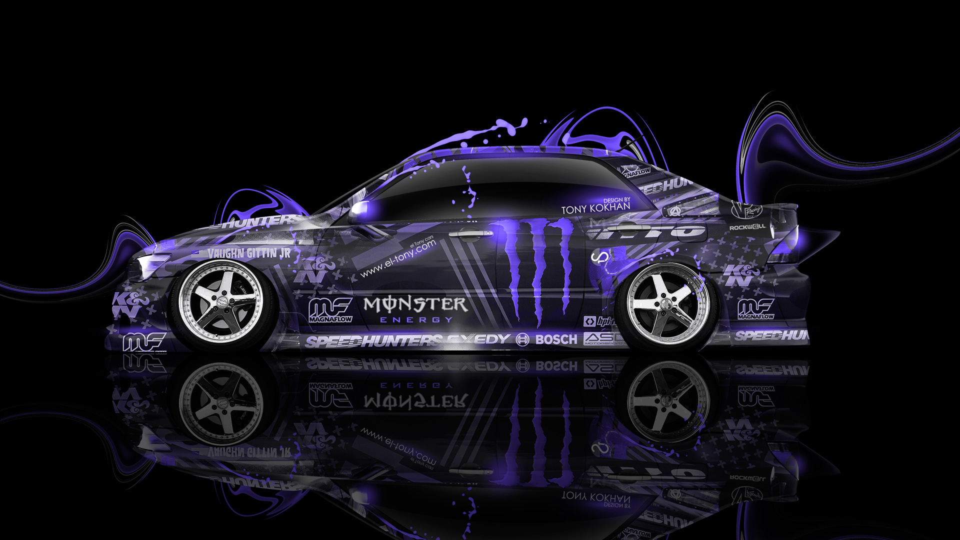 Monster Energy Toyota Altezza JDM Side Plastic Car  ...