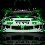 Monster Energy Toyota Soarer JDM Plastic Car 2014