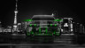 Nissan-Skyline-GTR-R32-JDM-Back-Crystal-City-Car-2014-Green-Neon-HD-Wallpapers-design-by-Tony-Kokhan-[www.el-tony.com]