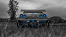 Nissan-Skyline-GTR-R34-JDM-Back-Crystal-Nature-Car-2014-Blue-Effects-design-by-Tony-Kokhan-[www.el-tony.com]