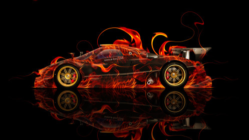 Pagani-Zonda-R-Side-Fire-Abstract-Car-2014-HD-Wallpapers-design-by-Tony-Kokhan-[www.el-tony.com]