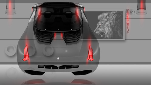 Peugeot-Onyx-Back-Crystal-Home-Fantasy-Fly-Car-2014-Orange-Neon-HD-Wallpapers-design-by-Tony-Kokhan-[www.el-tony.com]