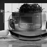 Porsche 918 Spyder Fantasy Crystal Home Fly Car 2014