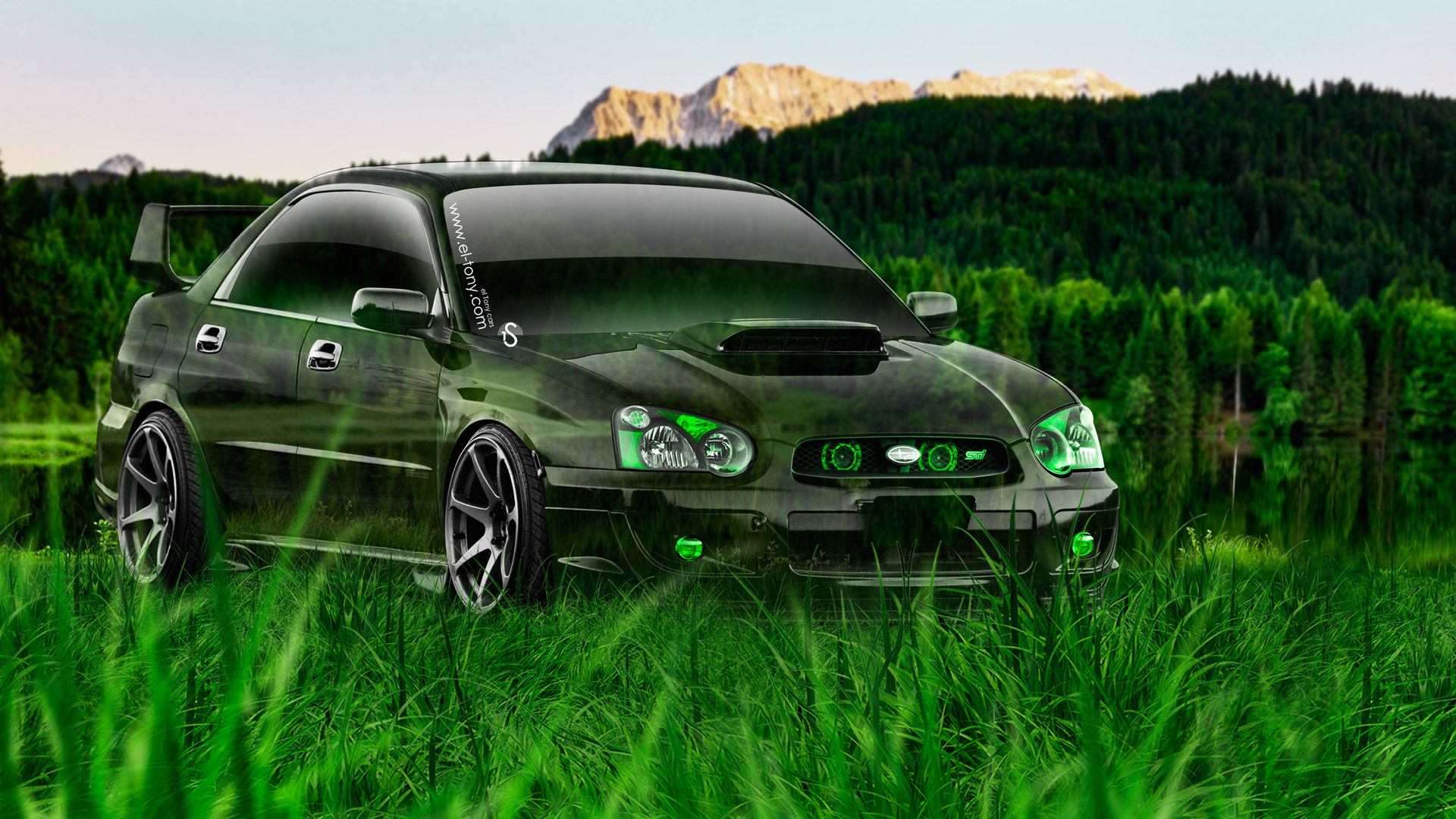 Subaru Impreza WRX STI JDM Crystal Nature Car 2014 | El Tony