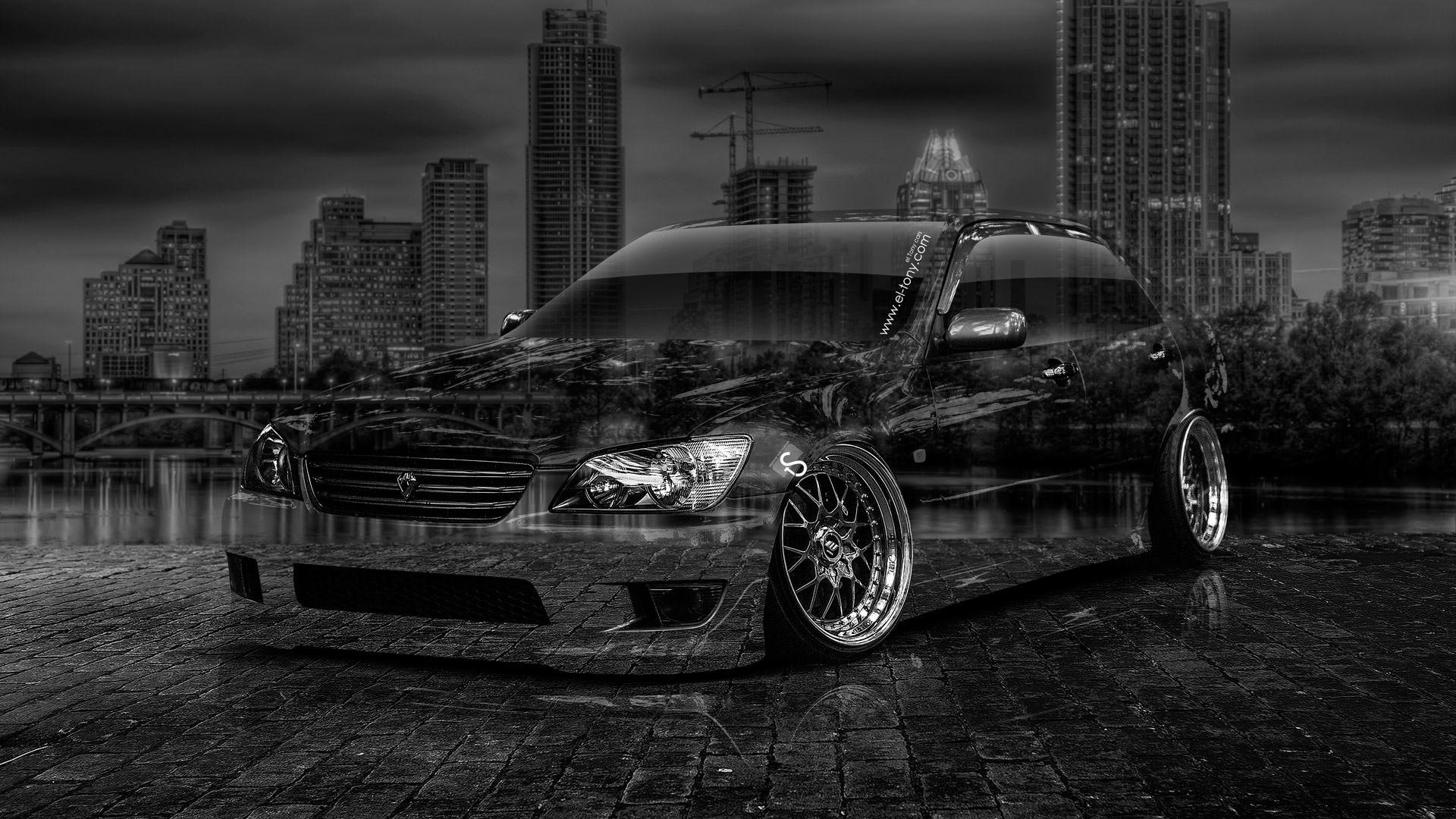 Toyota Altezza Jdm Crystal City Car Art Hd Wallpapers Design By Tony Kokhan Www El Tony Com